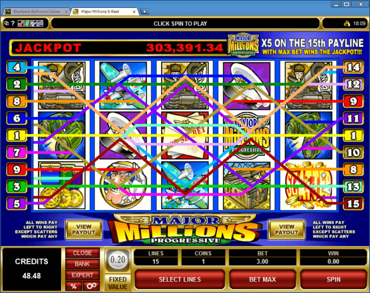 Slot Machine Bet 71527