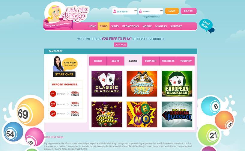 Best Bingo Promotions 8982