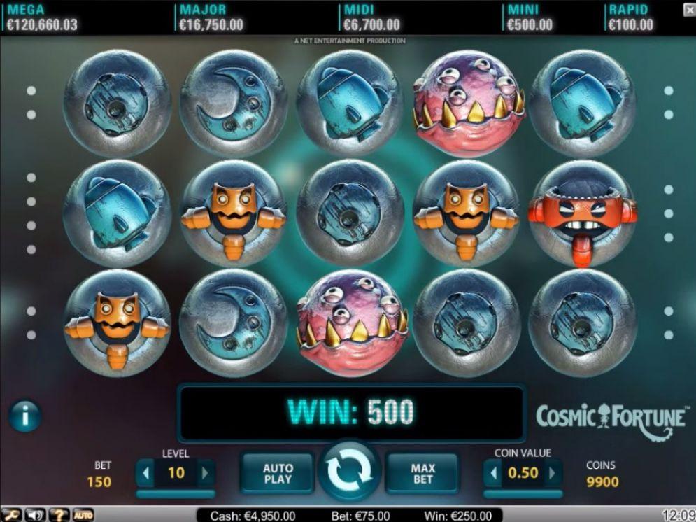 Cosmic Fortune Slot 68314