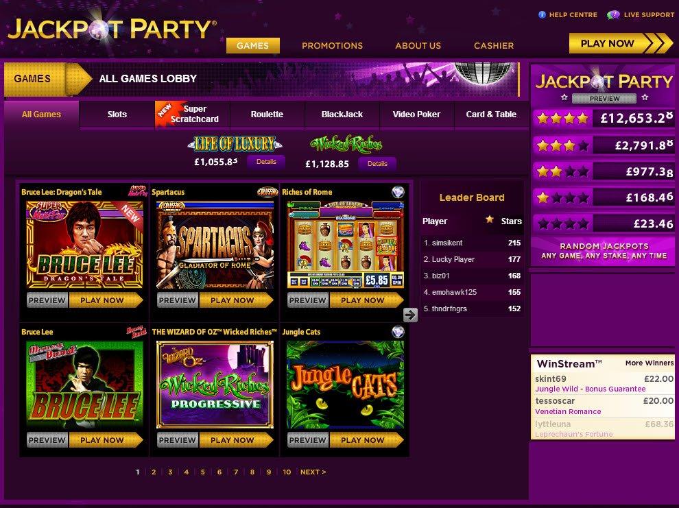 Jackpot Party Free 37595