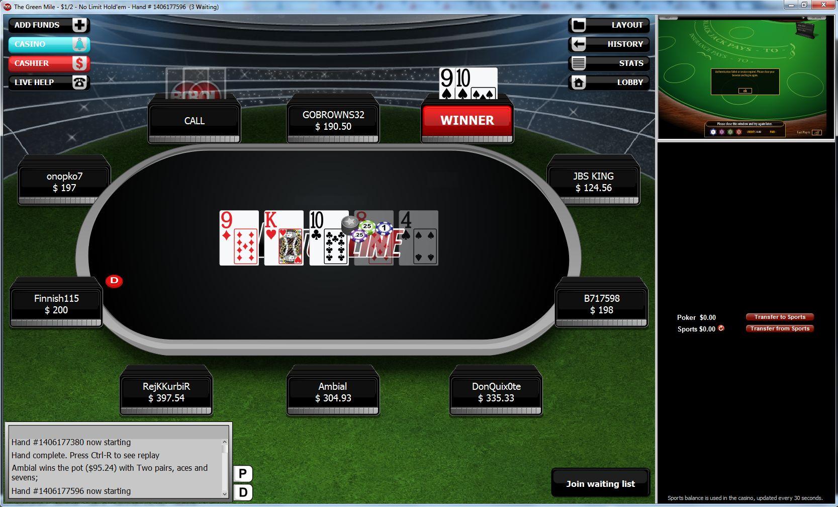 Softest Poker 8711