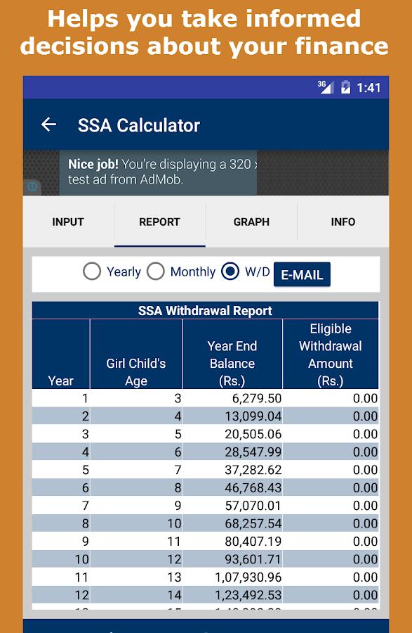 Payout Calculator App 92060