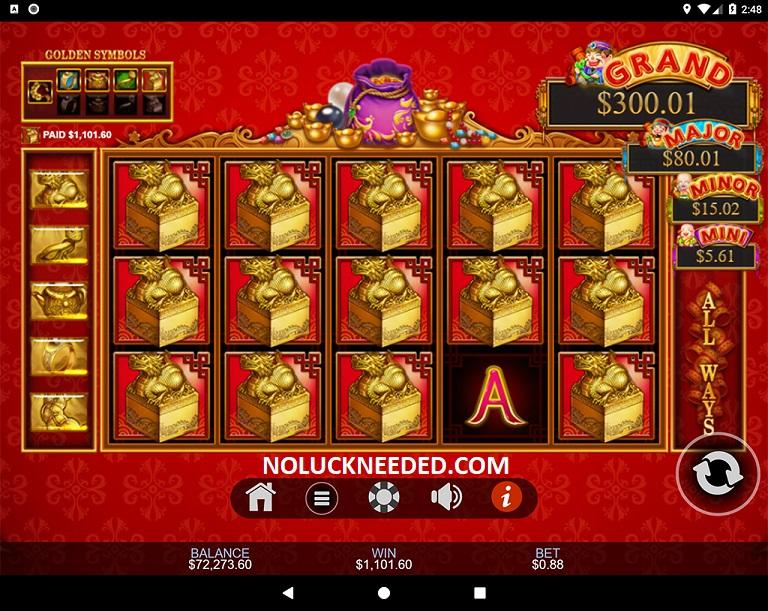 24kt Gold Slot 60935