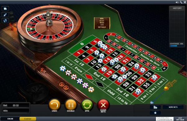 Table Minimum Odds 1575