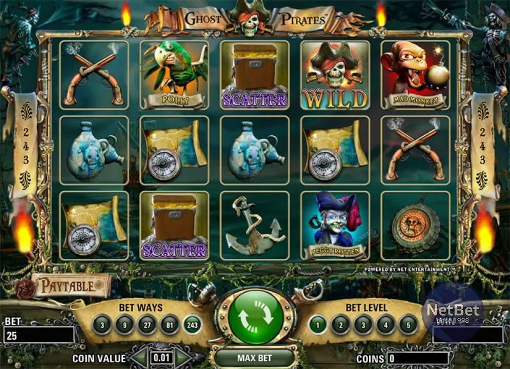 Ghost Pirates Slot 94490