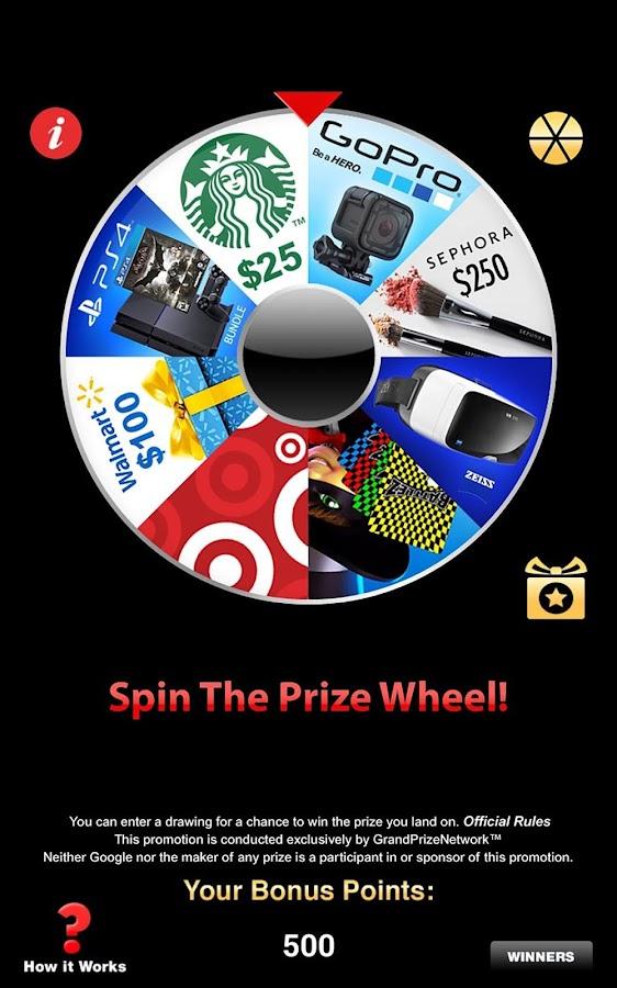 Win Prizes Everyday 16217