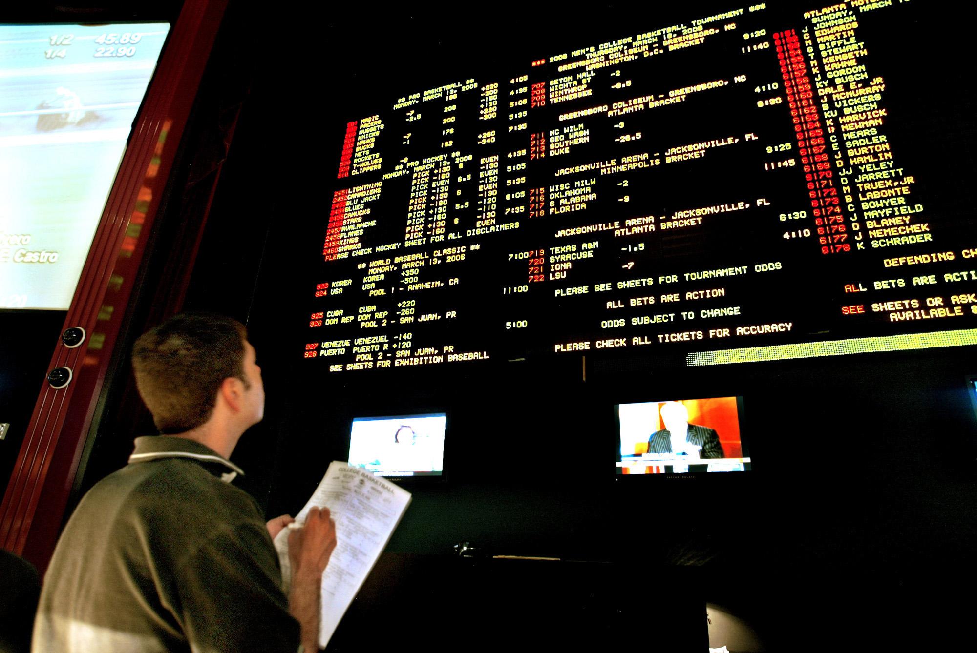 Legal Sports Betting 32470