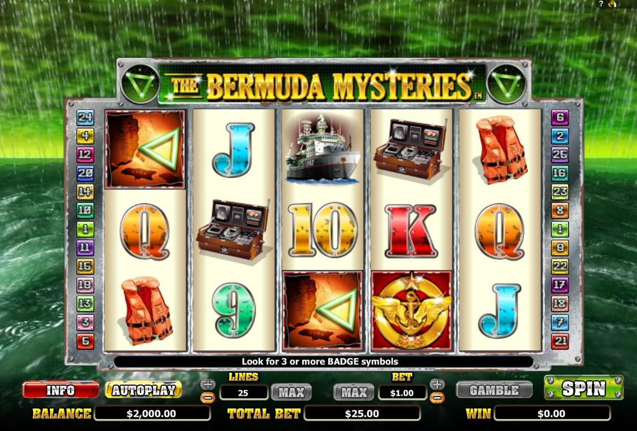Bermuda Triangle 16025