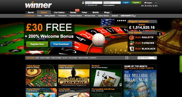 Begin Winning Casino 64214
