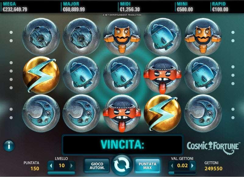Cosmic Fortune Slot 6207