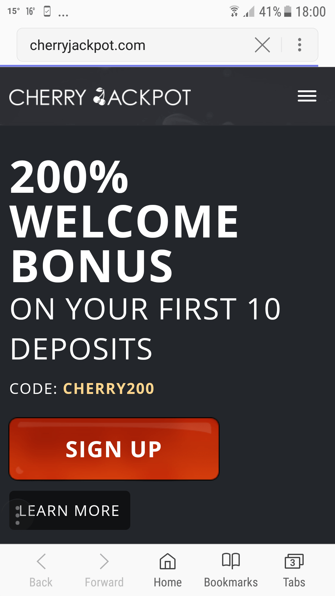 Cashback Bonus Method 6081