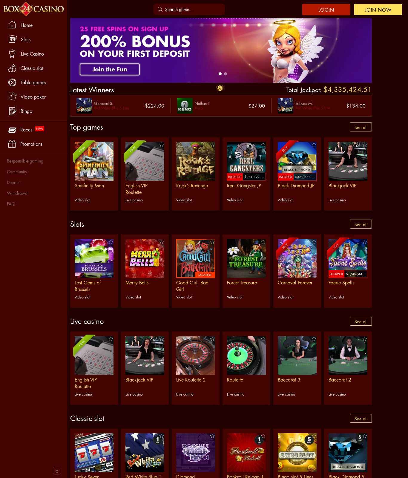 Casino for Tablet 98781