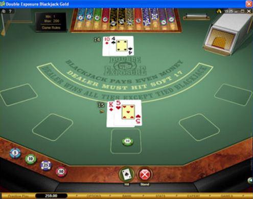 Double Exposure Blackjack 46478