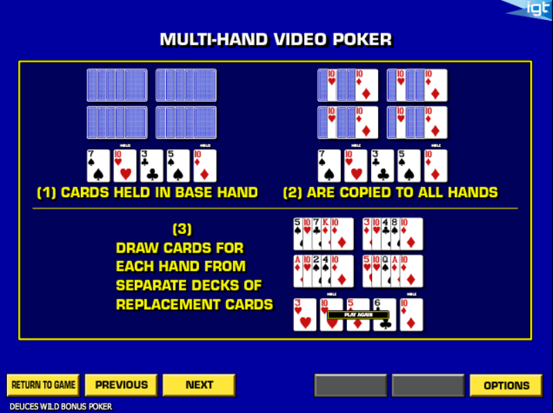 Deuces Wild Poker 41933