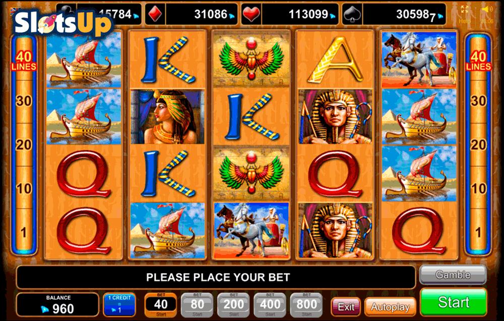 Egyptian Slots Bonus 30302