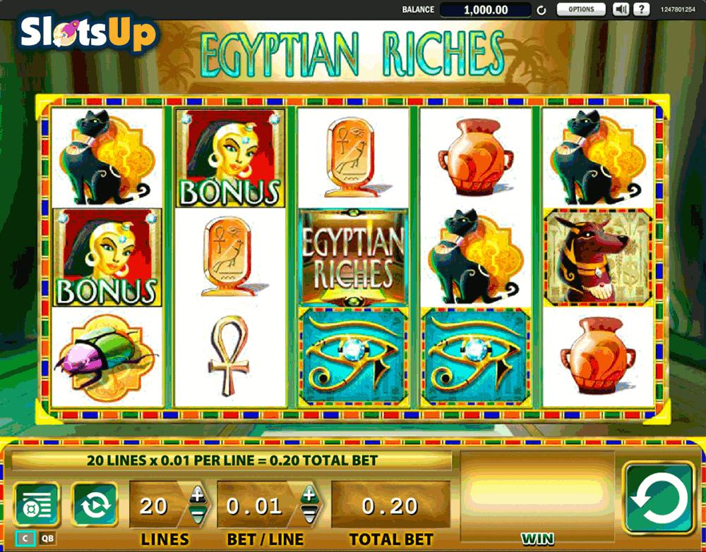 Egyptian Slots Bonus 10996