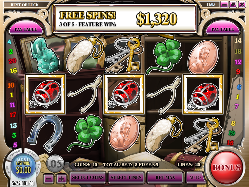 Slot Games With 11489