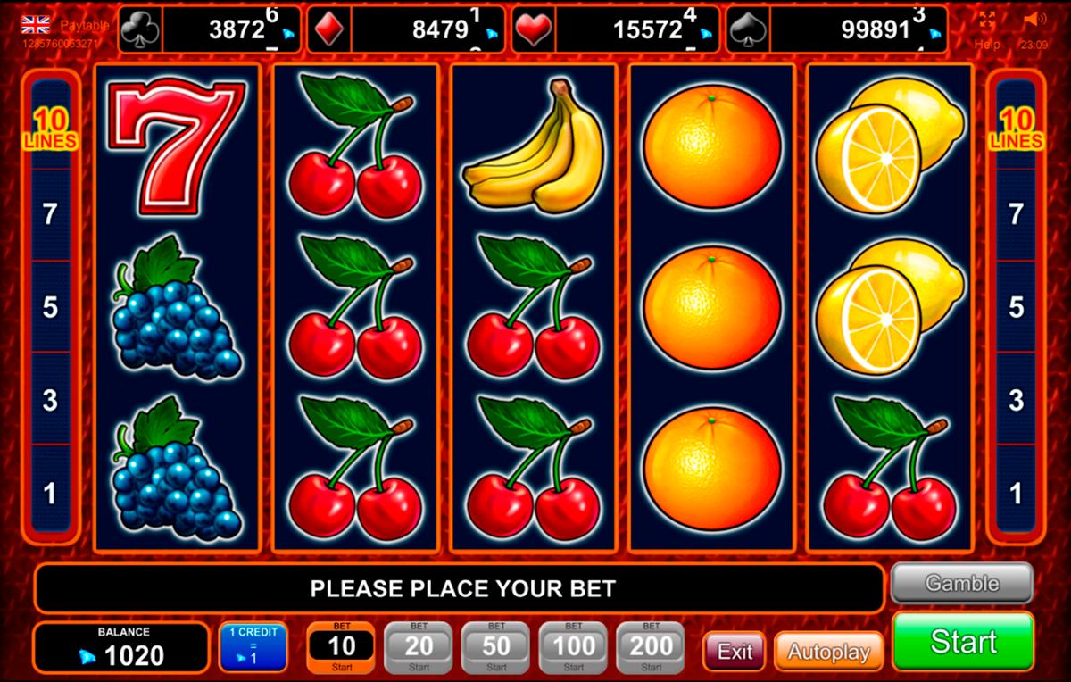 Slot Machine Money 16783