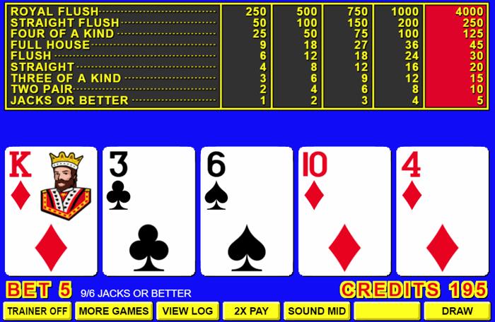 Video Poker 27722