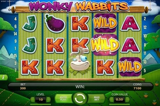 Wonky Wabbits Slot 90084